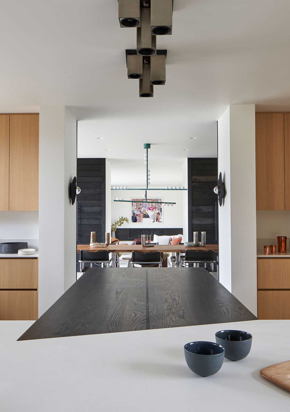 Elevated Mood - kitchen dining room view