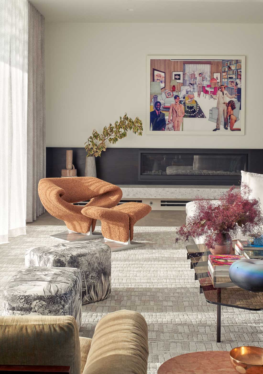 Elevated Mood - living room