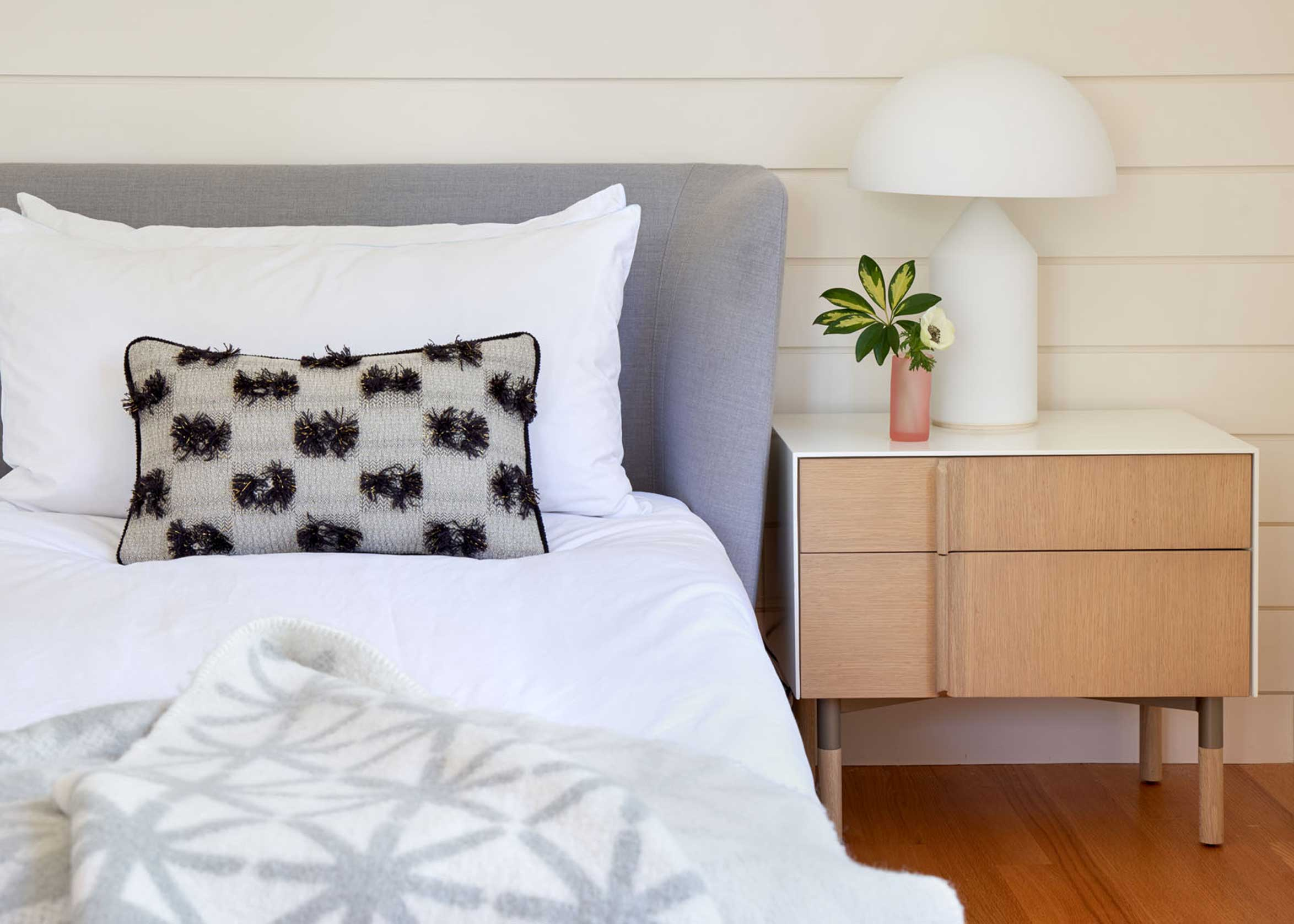 No Ordinary Blue - bedroom