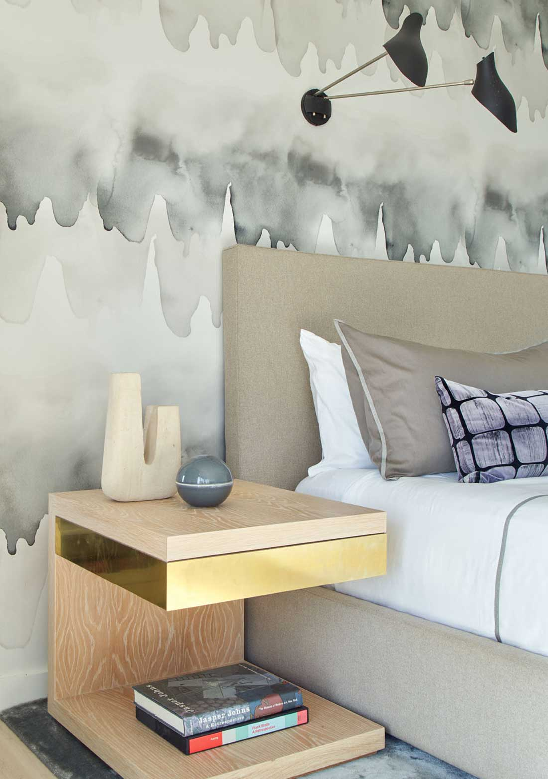 Resident Art - bed side table