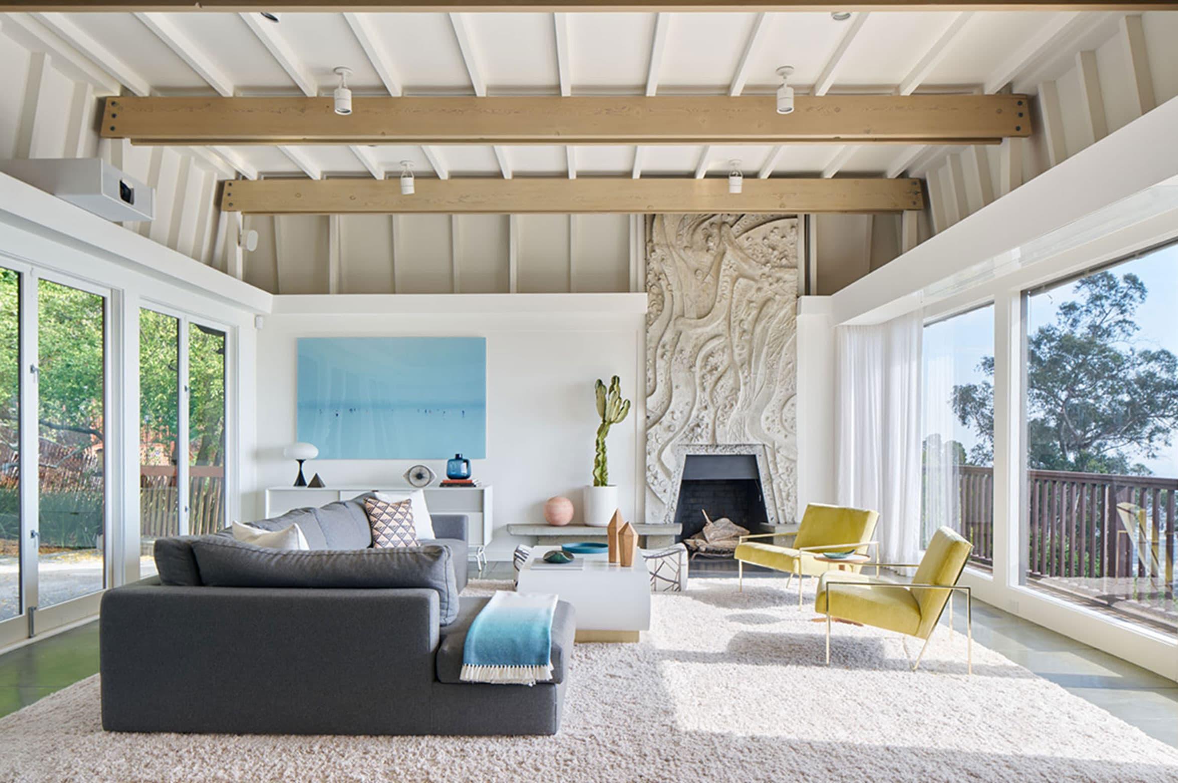 Alison Damonte - Resident Art Living Room view