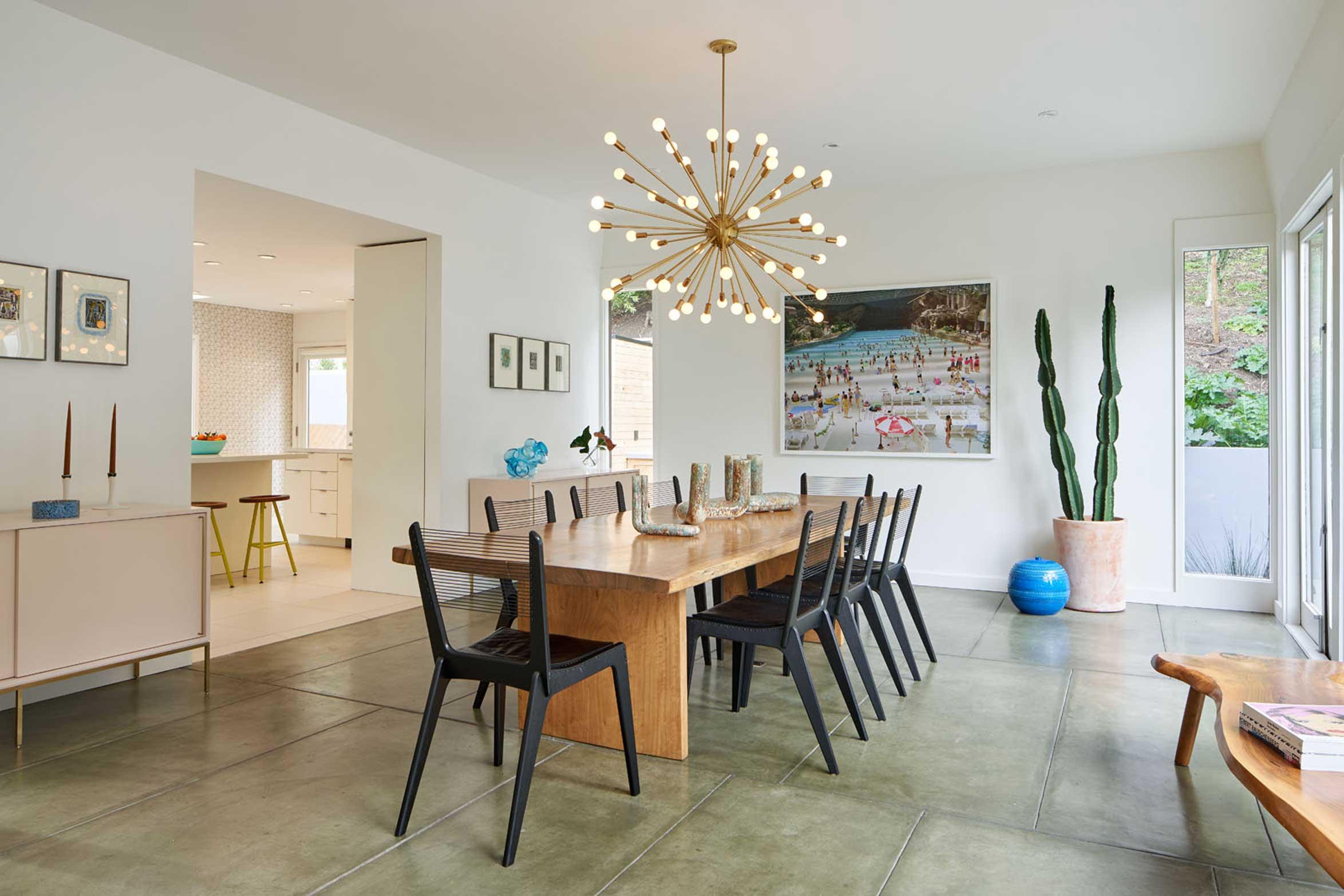 Resident Art - dining room