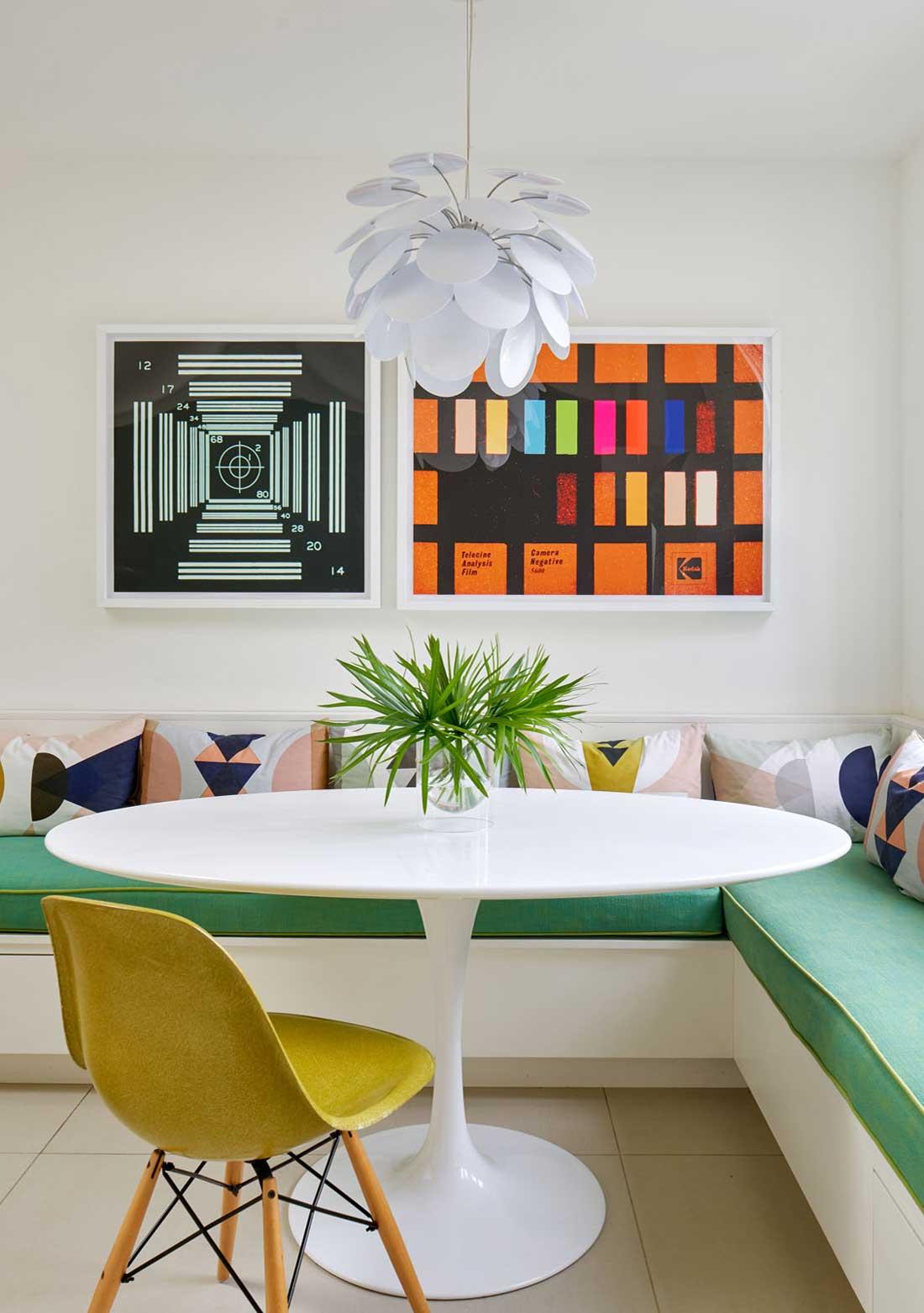 Resident Art - corner table